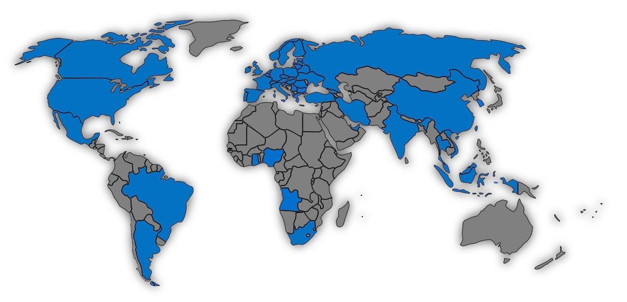 INTEGRA weltweit im Einsatz