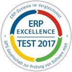 ERP Excellence Test 2017 Auszeichnung INTEGRA